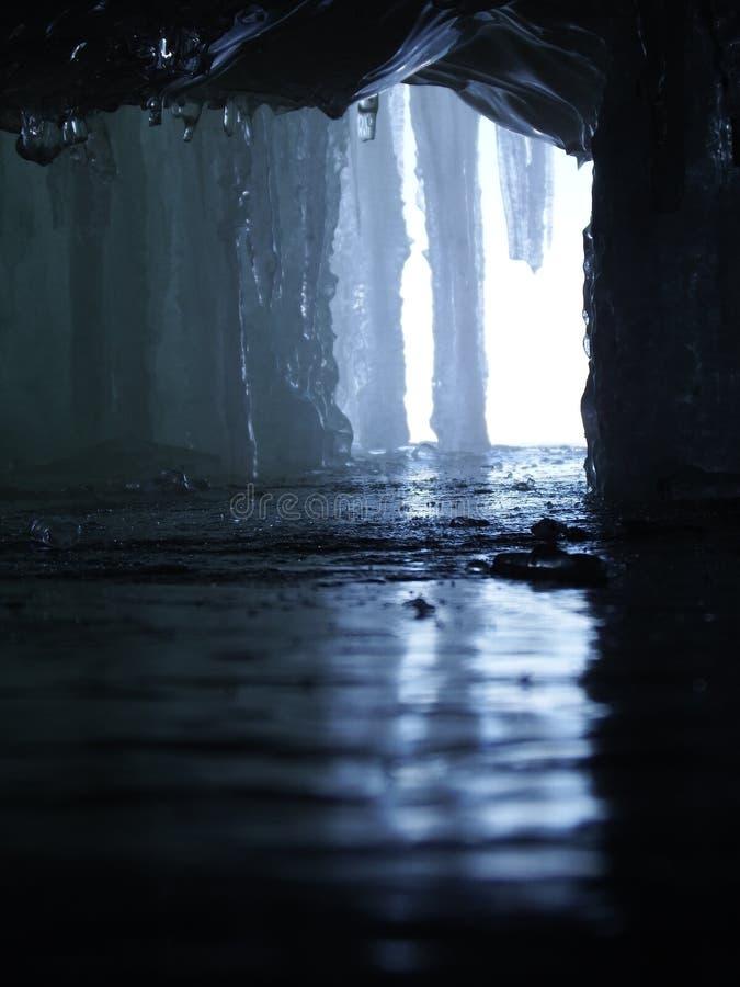 Cristalli di ghiaccio fotografia stock