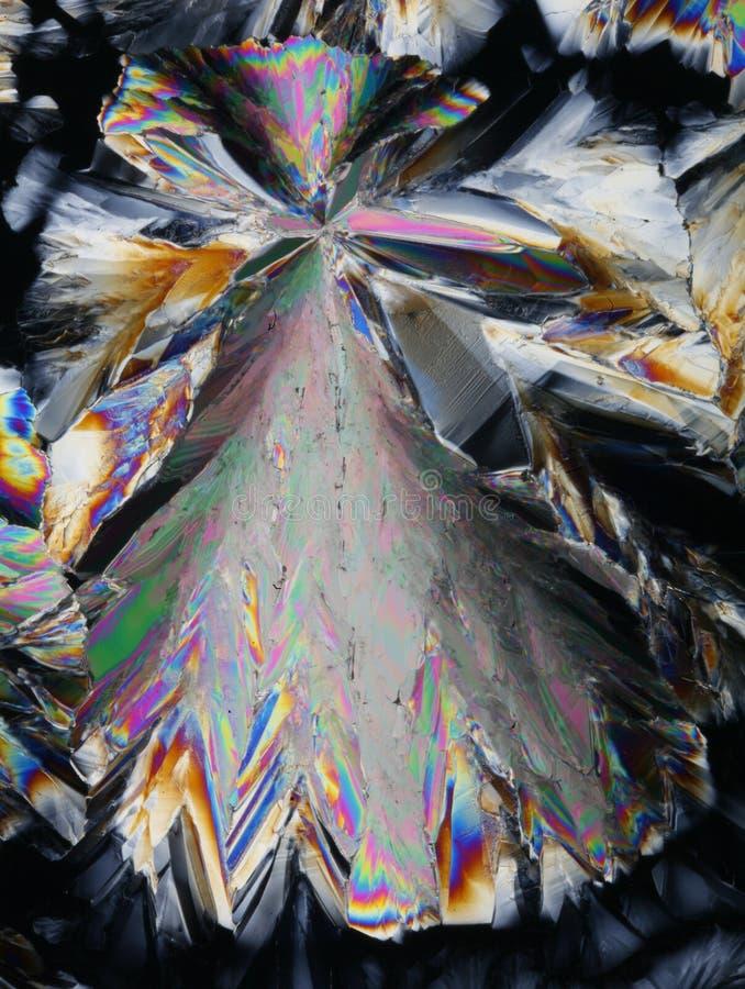 Download Cristalli Variopinti Dell'acido Citrico Immagine Stock - Immagine di macro, polarizzato: 7301469