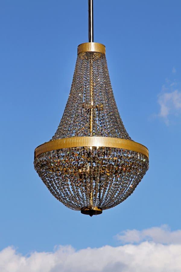 Cristallo del lampadario a bracci immagine stock libera da diritti