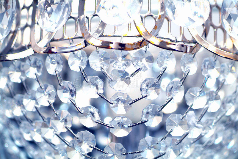 Cristallo lucido immagine stock