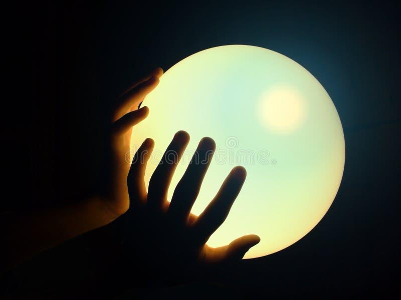Cristallo-sfera fotografie stock