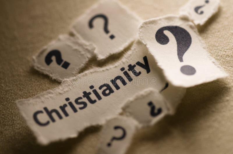 Download Cristandade imagem de stock. Imagem de conceito, perguntas - 21585155