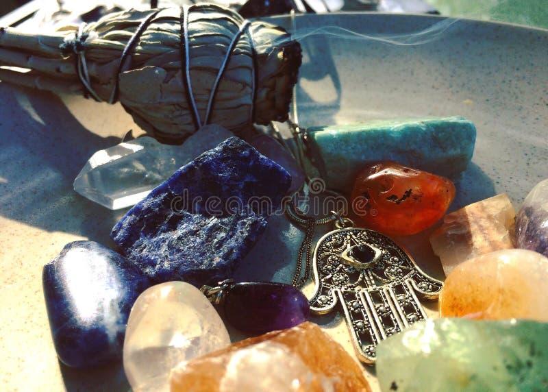 cristaux images stock