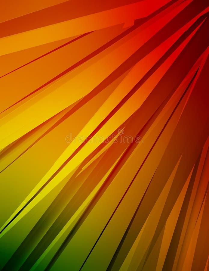 Cristaux colorés illustration libre de droits