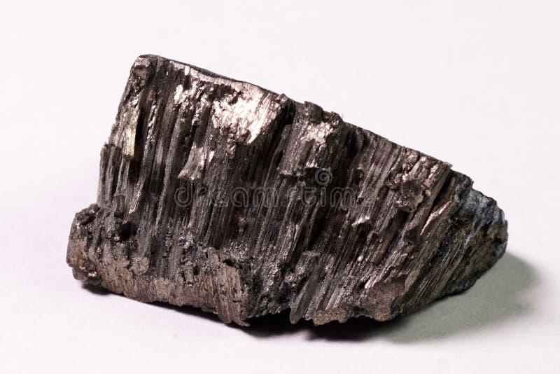 Cristaux de gadolinium, métal de gadolinium de terre rare images stock