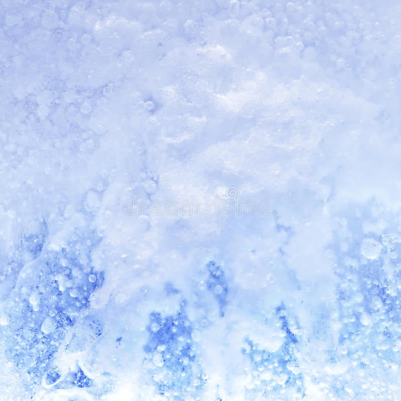Cristaux de glace. images libres de droits