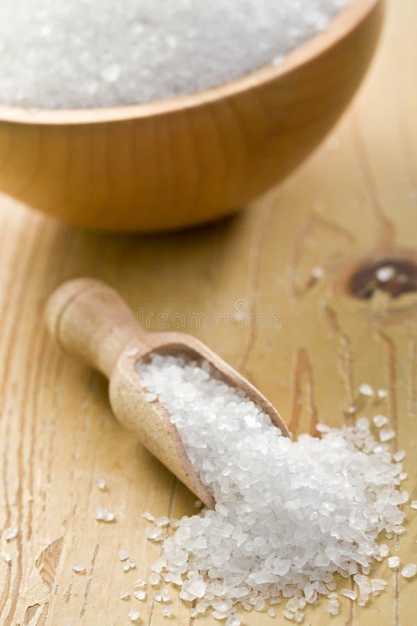 Cristaux de sel image stock