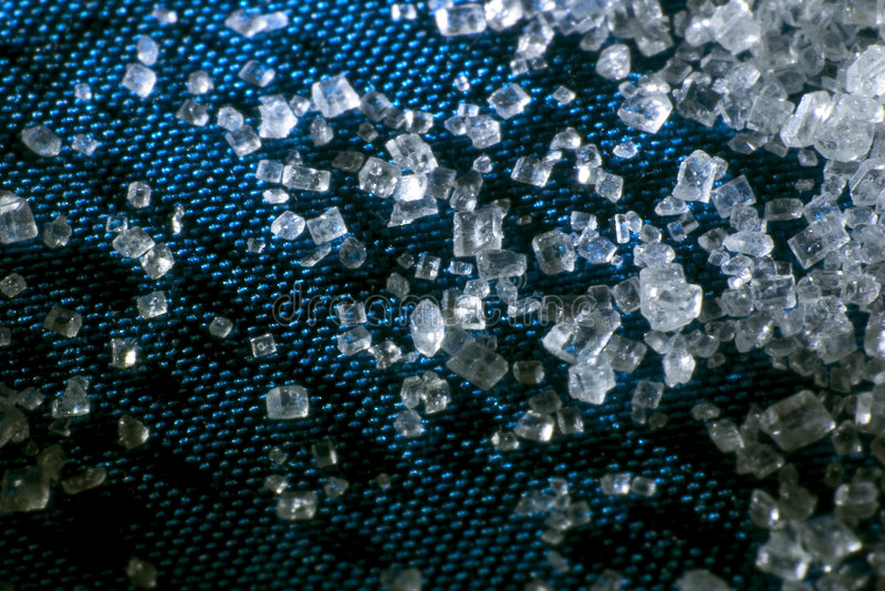 Cristaux de sucre image stock