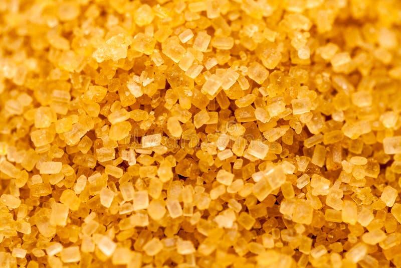 Cristaux de sucre de canne à sucre photos libres de droits
