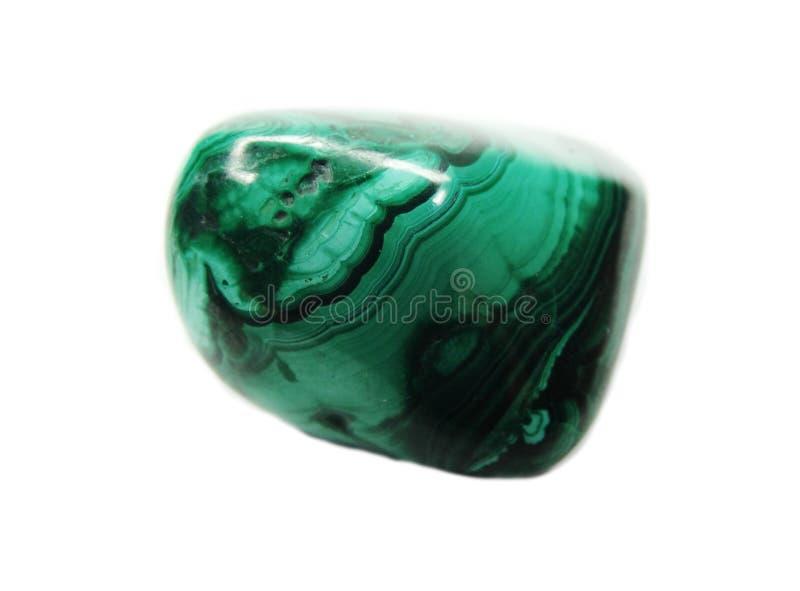Cristaux géologiques minéraux verts en cristal de malachite image libre de droits