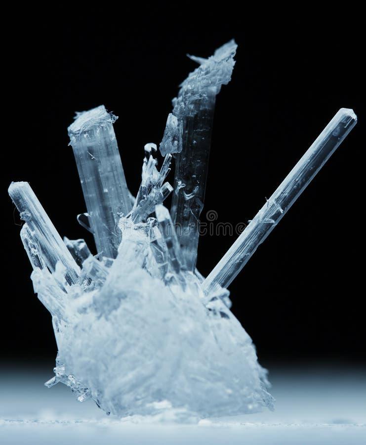 cristaux macro image libre de droits