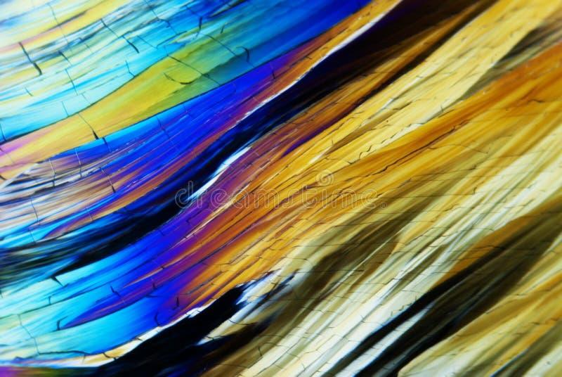 Cristaux micro photos stock