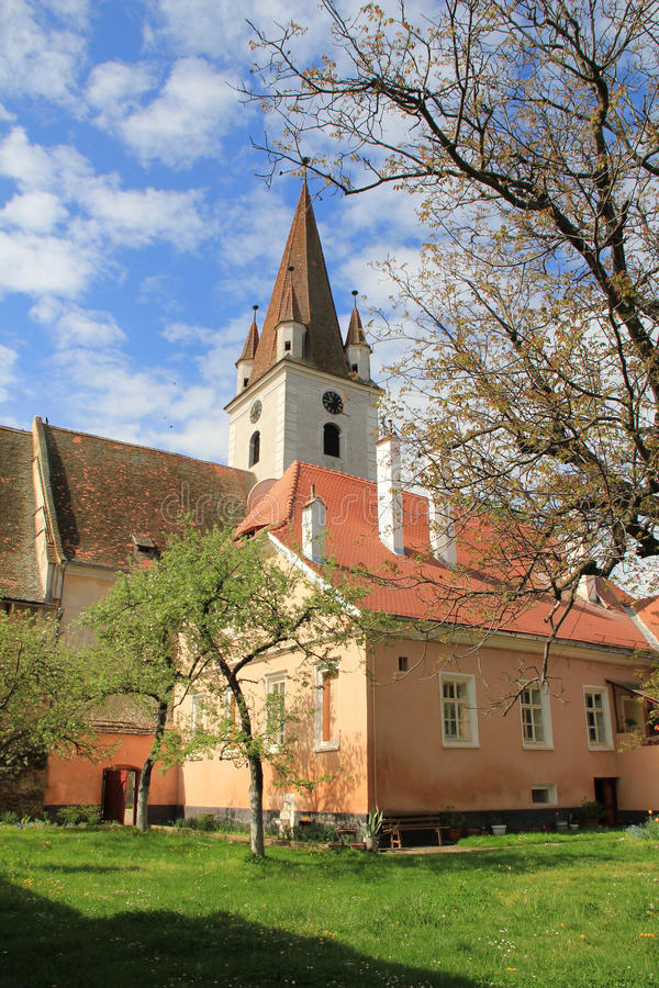Cristian fortified church royalty free stock photography
