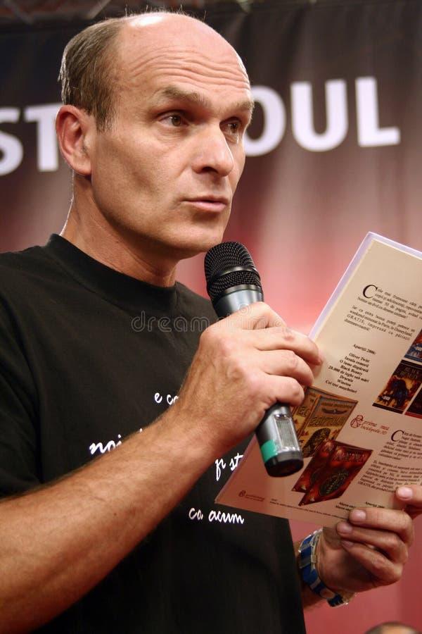 Download Cristian Tudor Popescu editorial image. Image of novelist - 22846455