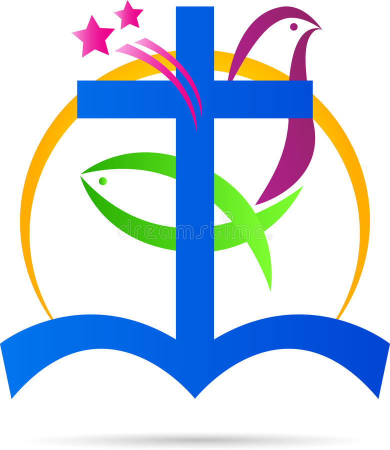 Cristianismo stock de ilustración