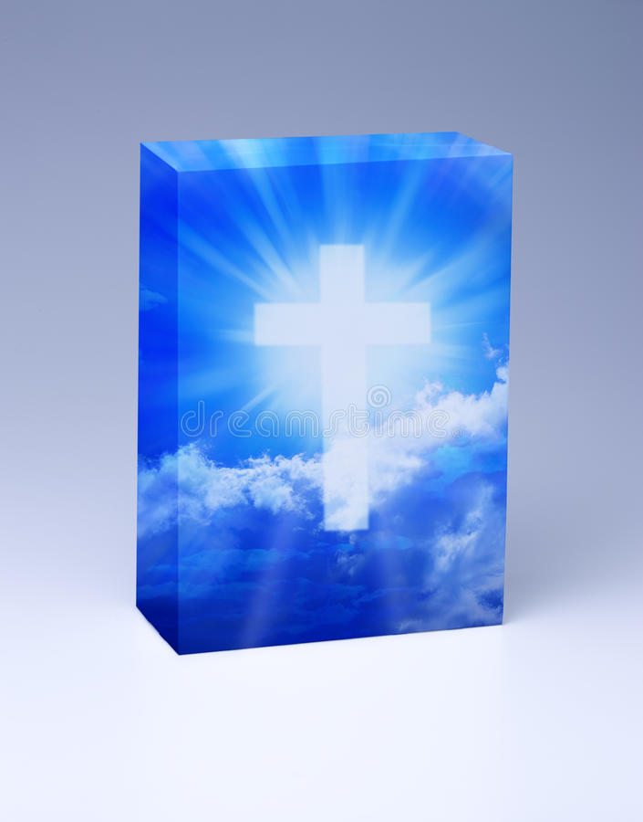 Cristianismo cruzado de la fe libre illustration