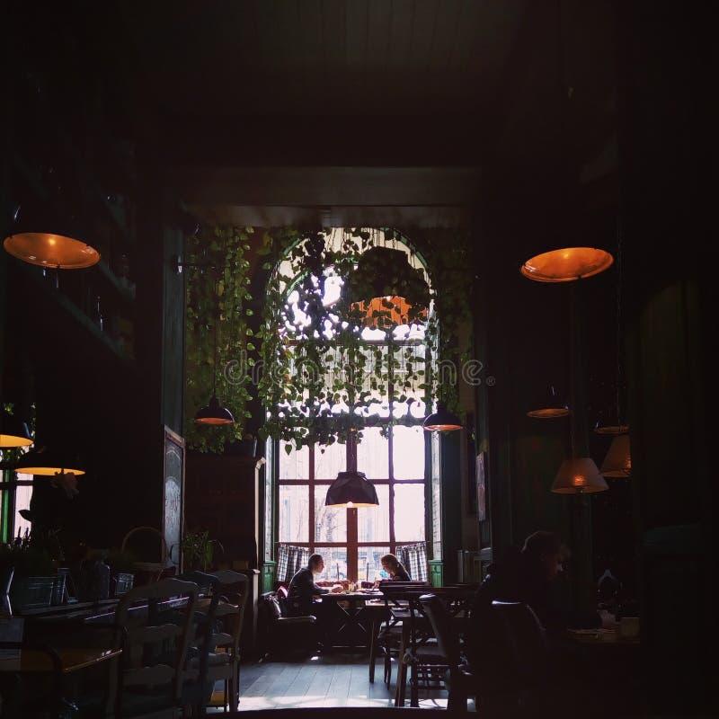 Cristiano del restaurante de Moscú fotos de archivo