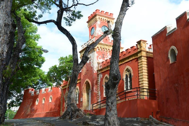 Cristiano forte, Charlotte Amalie, San Tommaso fotografie stock