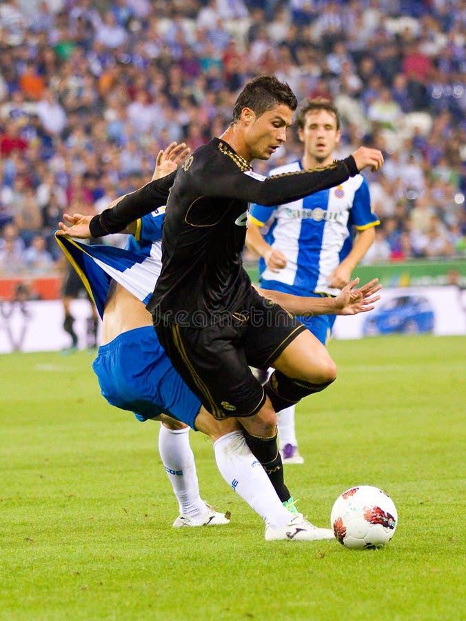 Cristiano Ronaldo 免版税库存照片