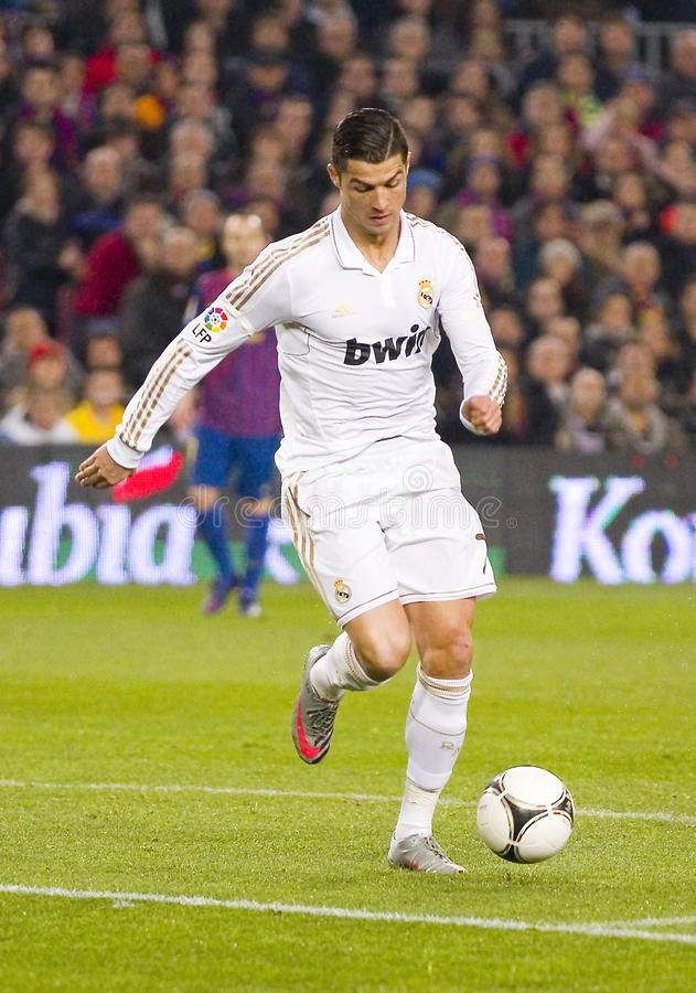 Cristiano Ronaldo 图库摄影