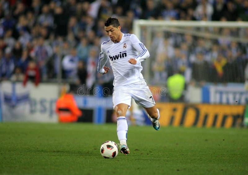 Cristiano Ronaldo de Real Madrid foto de stock