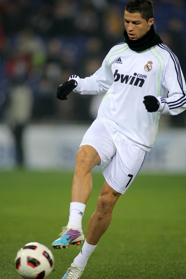 Cristiano Ronaldo de Real Madrid photos libres de droits