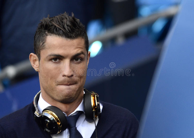 Cristiano Ronaldo stock image