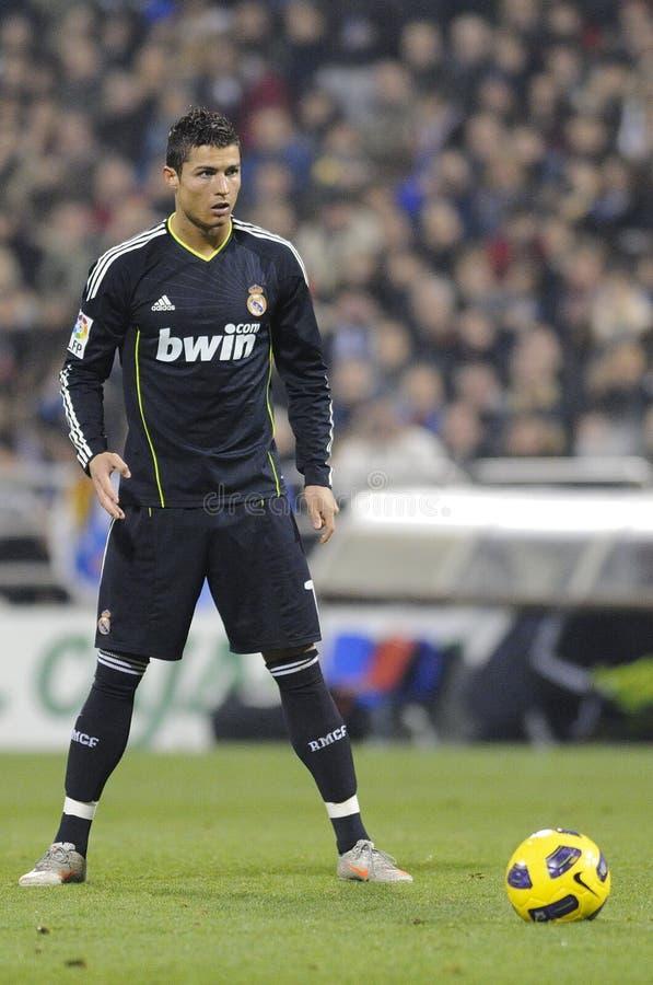 Cristiano Ronaldo ready to shoot