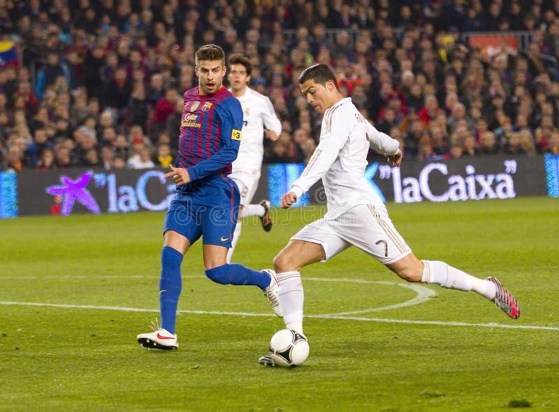 Cristiano Ronaldo Real Madrid obraz royalty free