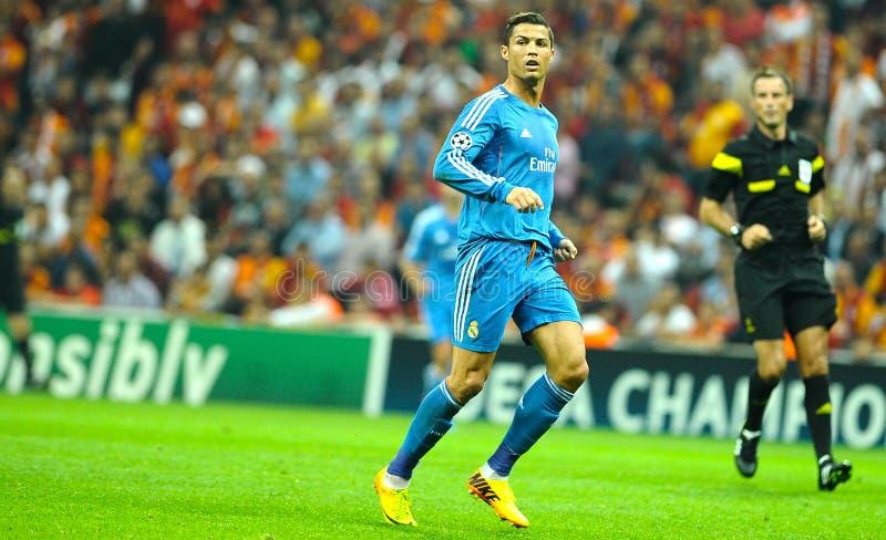 Cristiano Ronaldo Real Madrid стоковое изображение