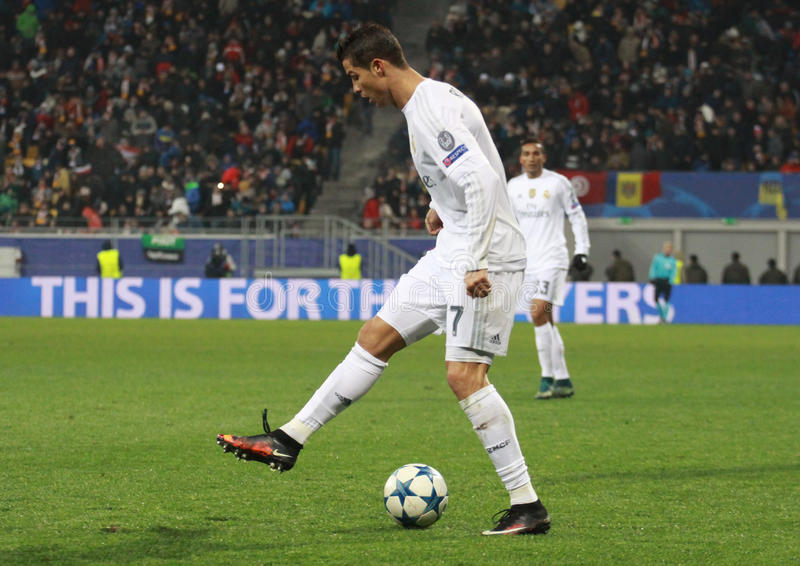 CRISTIANO RONALDO of REAL MADRID royalty free stock images