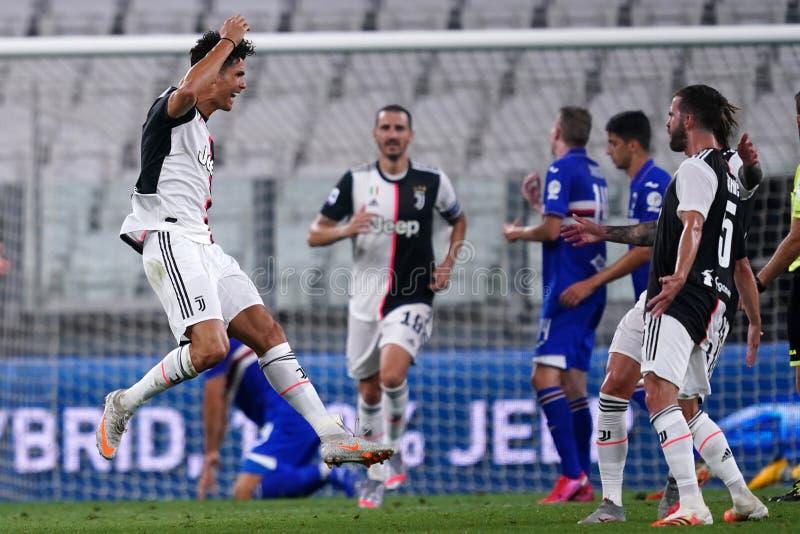 Torino, Italy, 26th July 2020. Juventus FC vs UC Sampdoria