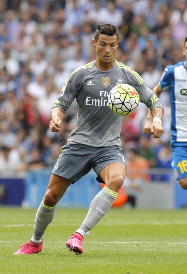 Cristiano Ronaldo van Real Madrid stock foto