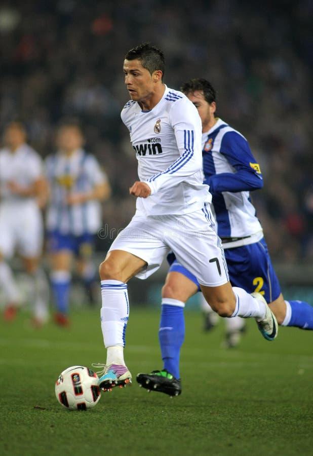 Cristiano Ronaldo von Real Madrid stockfotos