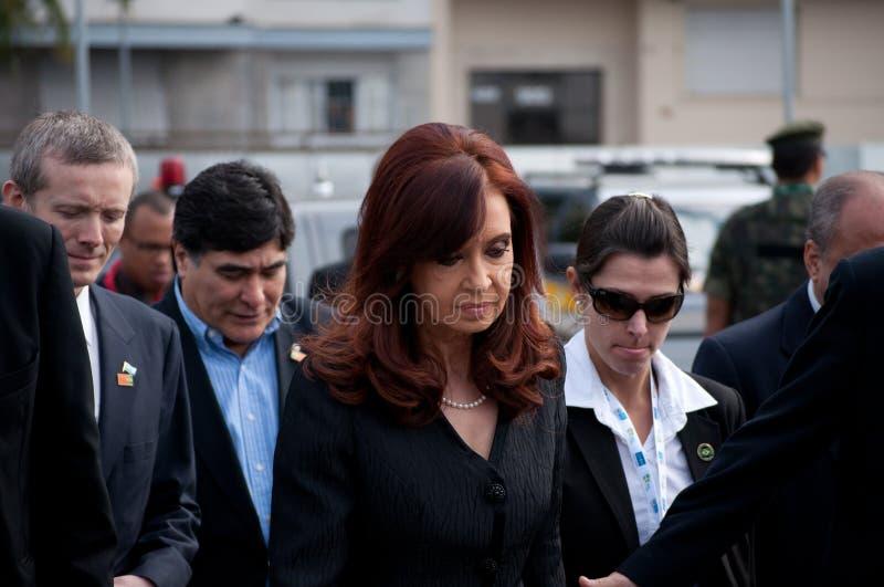 Cristina Kirchner fotografía de archivo libre de regalías