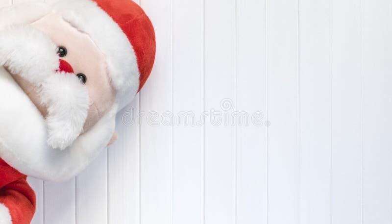 Cristmas bakgrund Röd garnering Glat Cristmas hälsningkort royaltyfri bild