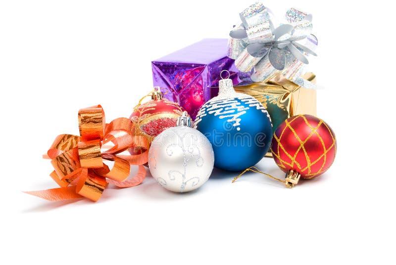 Cristmas das esferas .embellishment do Natal. imagens de stock