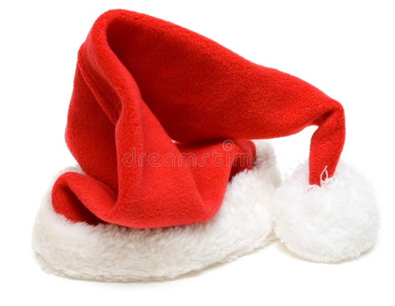 cristmas hubcap czerwień Santa zdjęcia stock