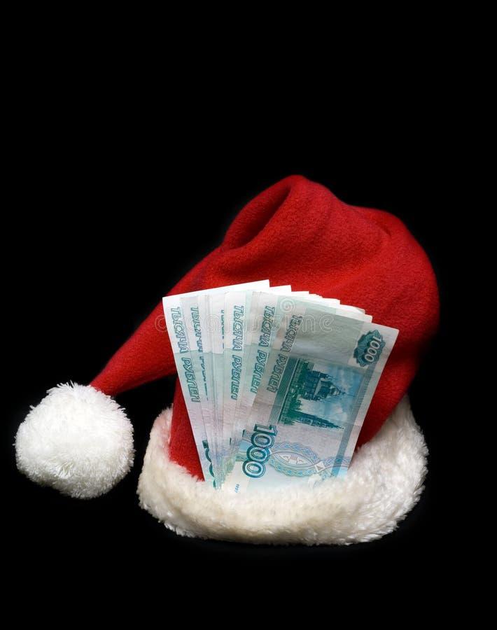 cristmas hubcap czerwień Santa zdjęcie royalty free