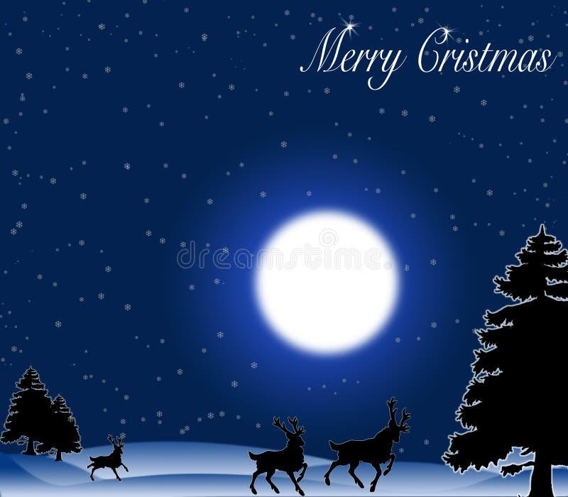 cristmas merrry иллюстрация штока
