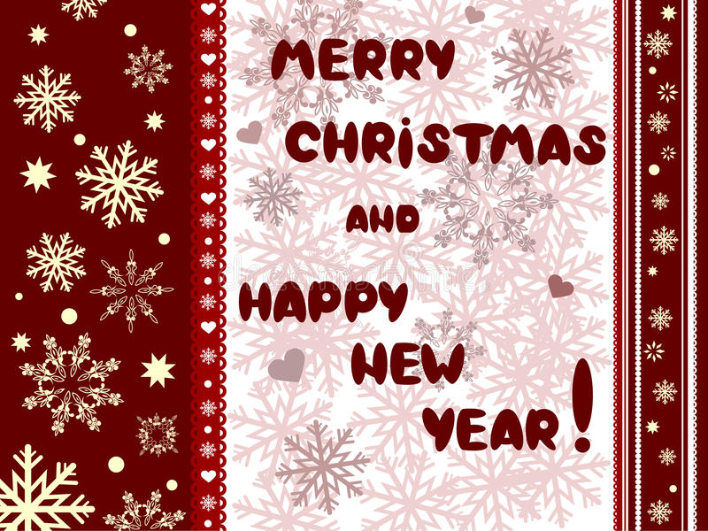 Download Cristmas And New Years Card Stock Photos - Image: 22004843