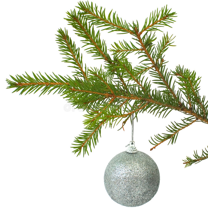Cristmas-tree ball stock photography