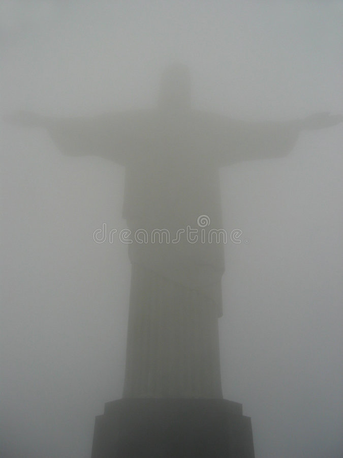 Cristo in Cloud royalty free stock photography