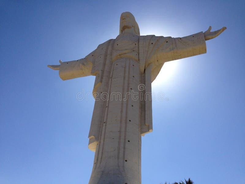 Cristo De Los angeles Concorida obraz royalty free