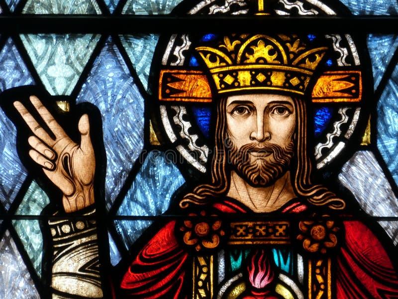 Cristo el rey imagen de archivo libre de regalías