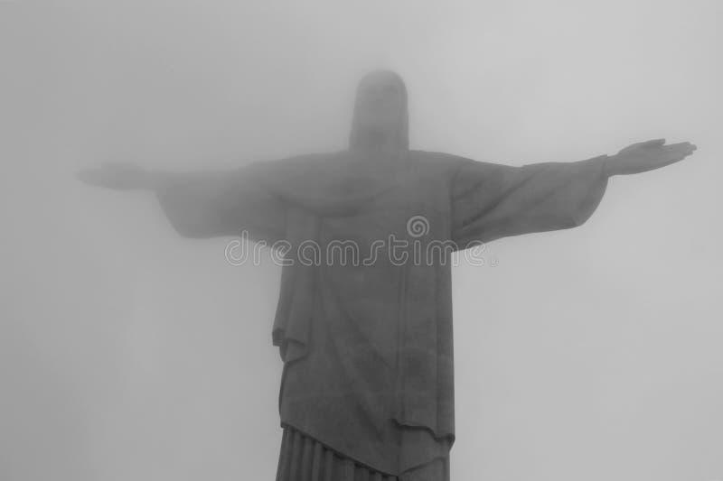 Cristo il redentore - Rio de Janeiro - Brasile fotografia stock libera da diritti