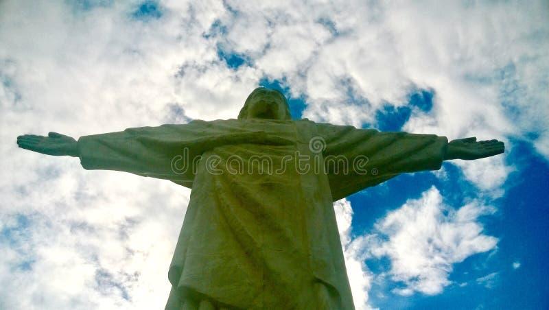 Cristo la estatua del redentor fotografía de archivo