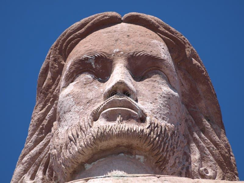 Cristo Monumental del Cerrodel Atache Taxco Mexique photos libres de droits