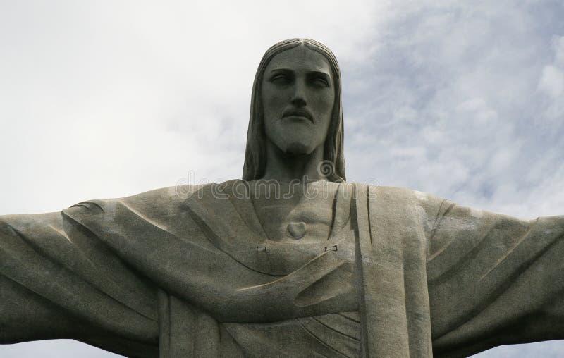 Cristo nel Brasile fotografia stock