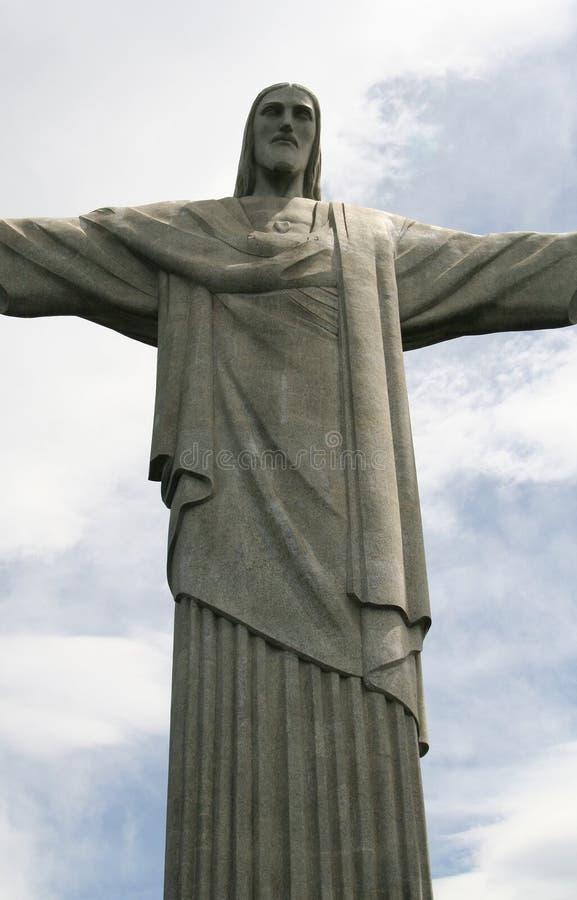 Cristo nel Brasile fotografie stock